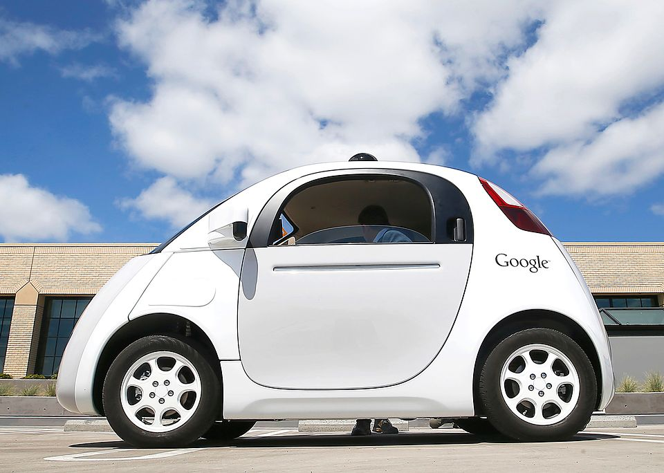 Driverless Cars On Swiss Roads A Model For The Future Or Flight Of Fantasy Pictured Google Car Photo Keystone